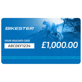 Bikester Gift Certificate Voucher £1000